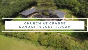 Church at Crabbe – JULY 14th